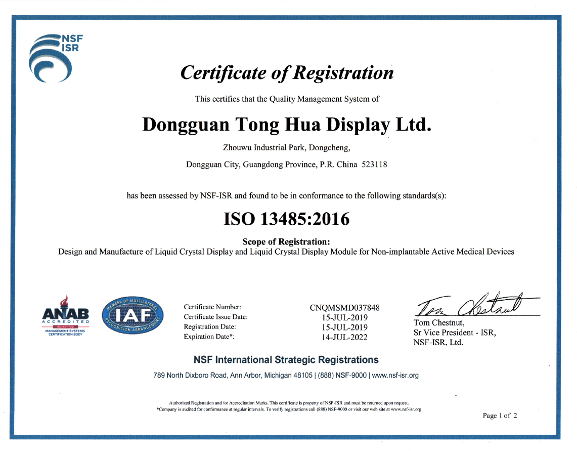 ISO 13485 - 2019-2022